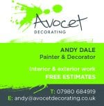 Avocet Decorating