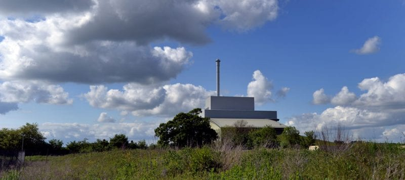 Greatmoor energy from waste plant.