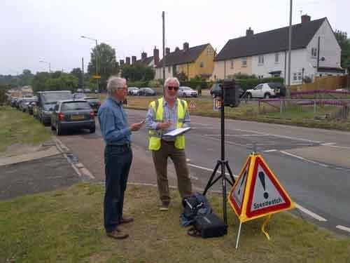 Graham Watts and trainee Tom Walsh