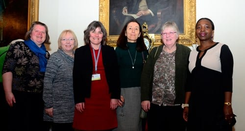 Volunteers with the Special Educational Needs and Disabilities Information and Advice Service meet Chairman Val Letheren