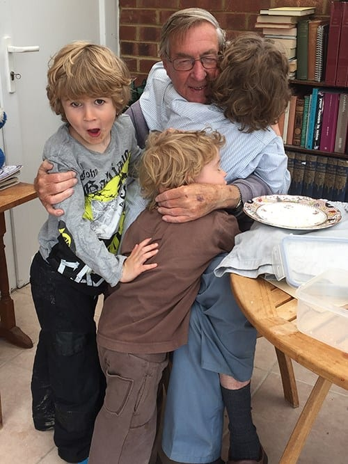 John with Mark's boys