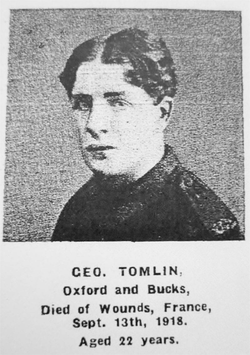 George Tomlin, 22
