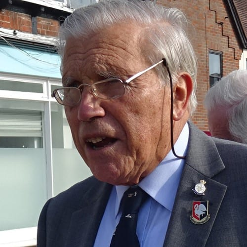 Richard Pushman who founded the competition