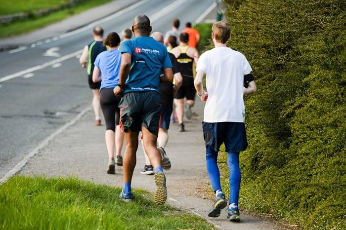 An Active Bucks 'On the Run' event