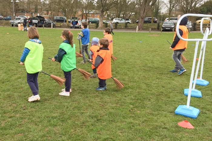 A game of Active Bucks Quidditch about to begin. Images courtesy BCC.