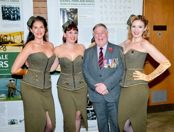The Rockabellas with Lieutenant Colonel John Williams