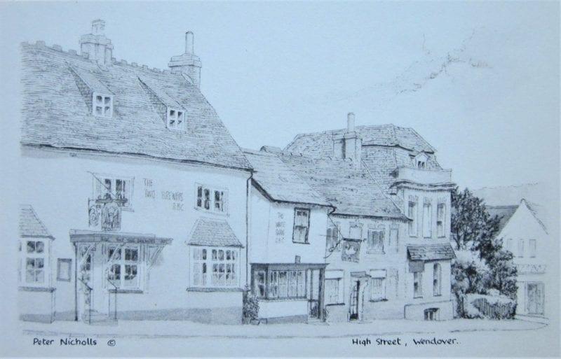 Wendover High Street, copyright Peter Nicholls