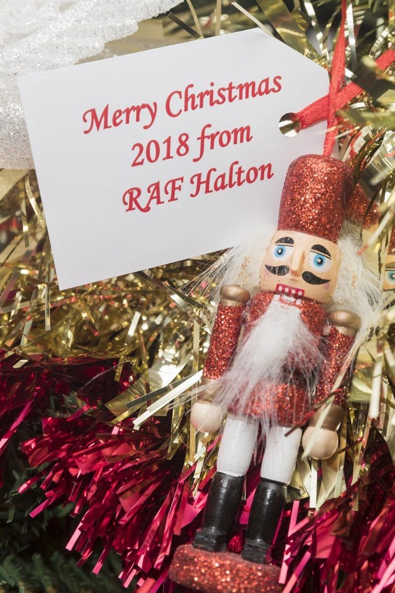 Merry Christmas from RAF Halton. All images Crown Copyright.