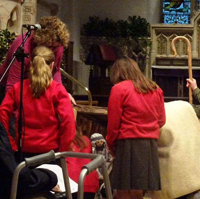 Telling the Christmas Story.