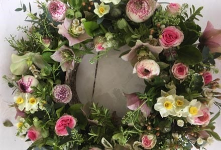 Floral Centrepiece - one of this spring's workshops
