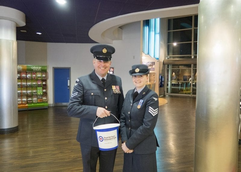 RAFBF bucket collection at Aylesbury Odeon