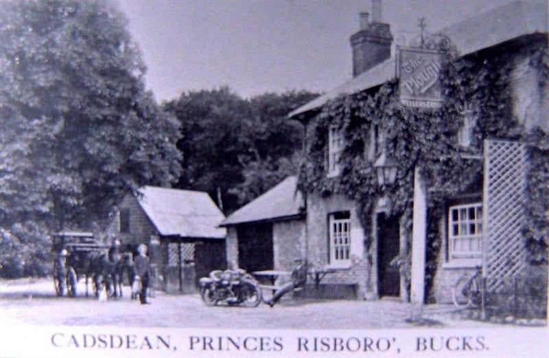 A bodgers pub, The Plough at Cadsden, near Princes Risborough. Photo courtesy of Stuart King.