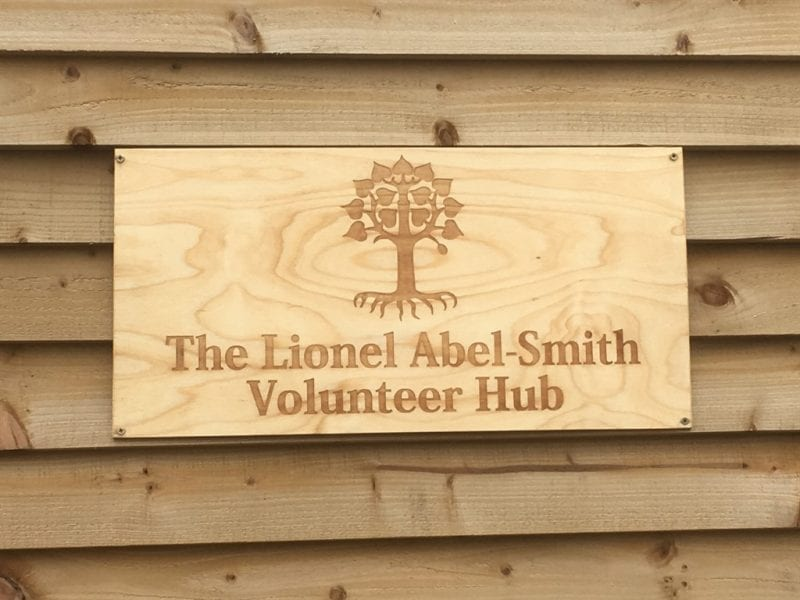 The beautiful wooden plaque made by Robert Duggan of Wendover Wood. All images courtesy Lindengate.