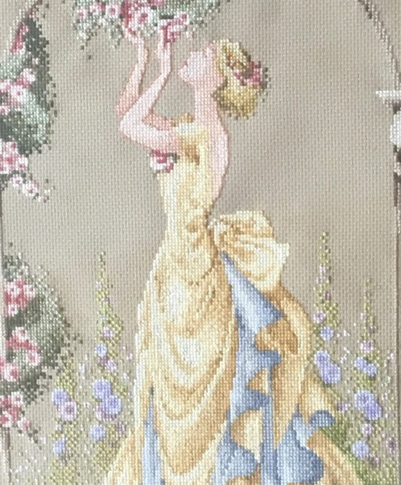 An example of Margaret's needlework