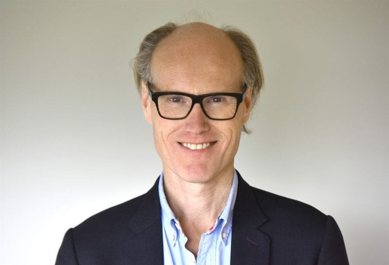 Will Gompertz  - Opening the race 2019 (photo copyright Jeff Overs).