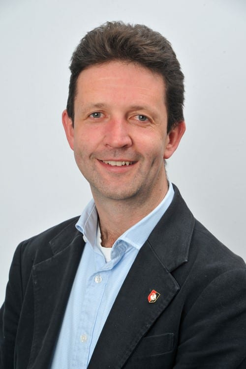 Gareth Williams, new Cabinet Member for Community Engagement and Public Health