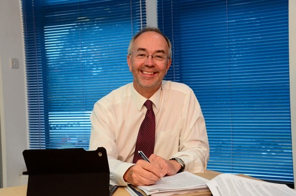 Martin Tett, Leader of Buckinghamshire County Council. Images courtesy Buckinghamshire County Council.