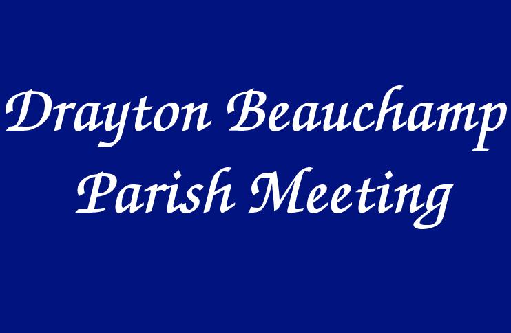 Drayton Beauchamp Parish Meeting Logo