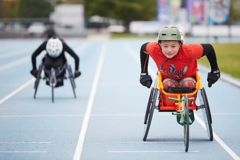 Images of previous National Junior Games courtesy Wheelpower