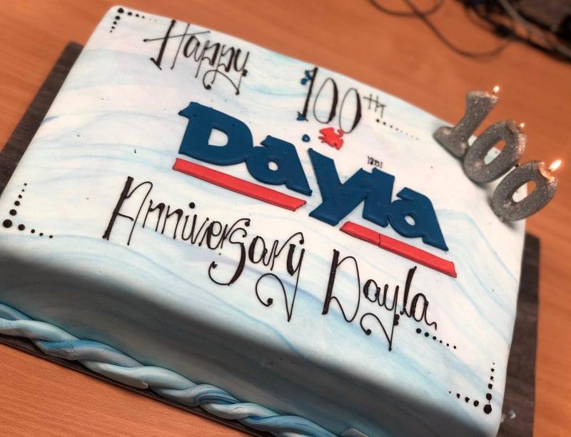DAYLA anniversary cake