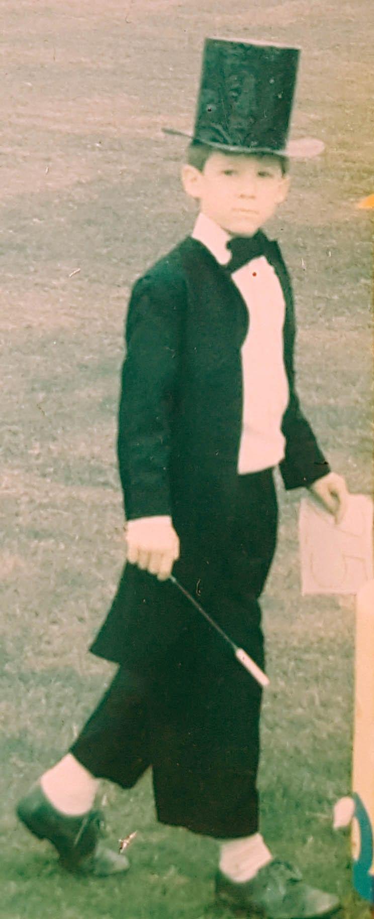 Thomas Duggan in costume