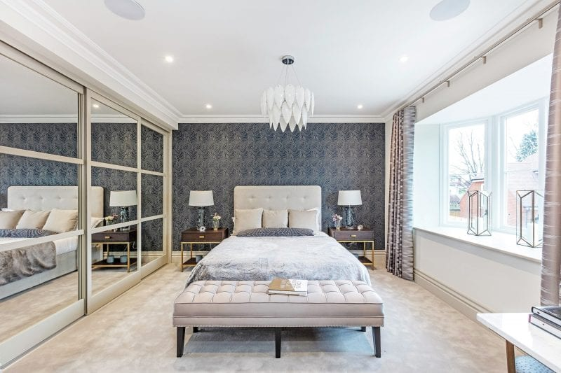 Bedroom at Aubury Place by Kebbell