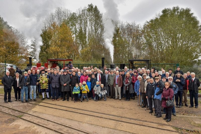 Hudswell Clarkes No.1238 & 1643 Leighton Buzzard Railway Society Group Photo - Joey Evans