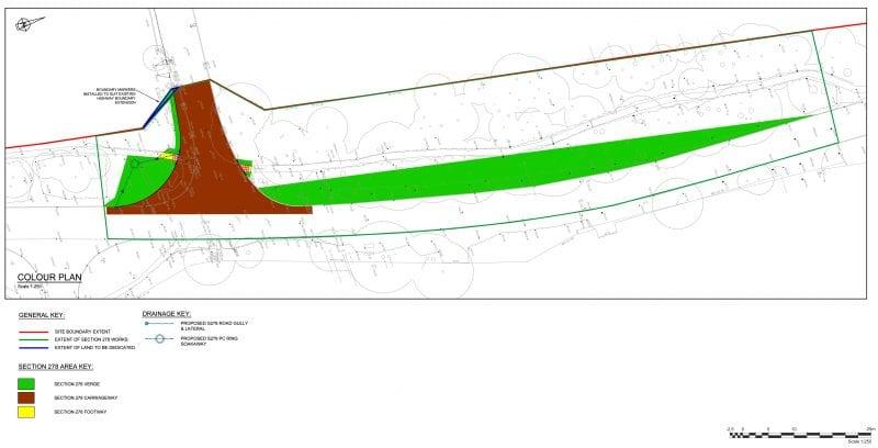 Wycombe Air Park improvement plan diagram
