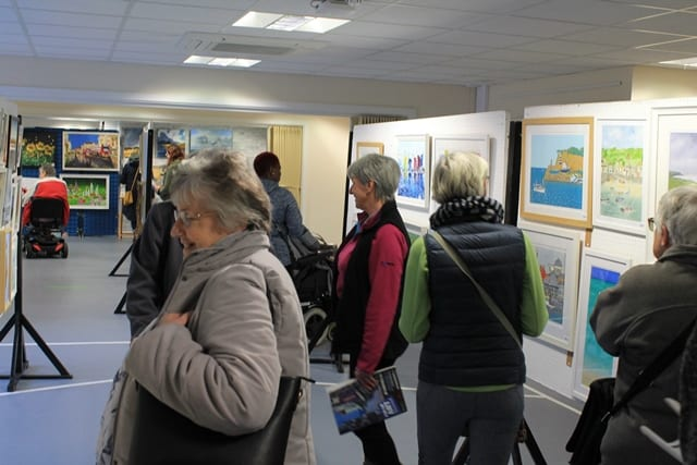 Images from the 2020 Pop-Up Art Weekend courtesy Chilterns MS Centre