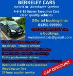 Berkeley Cars (formerly Wendover Taxis)