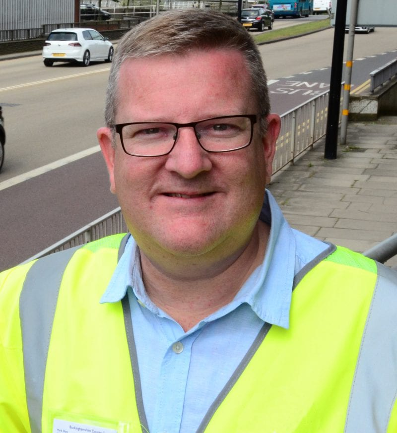 Mark Shaw, Buckinghamshire Council Executive Portfolio Holder for Transport