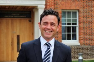 Dean Jones, Partnerships and Outreach Manager, University of Buckingham