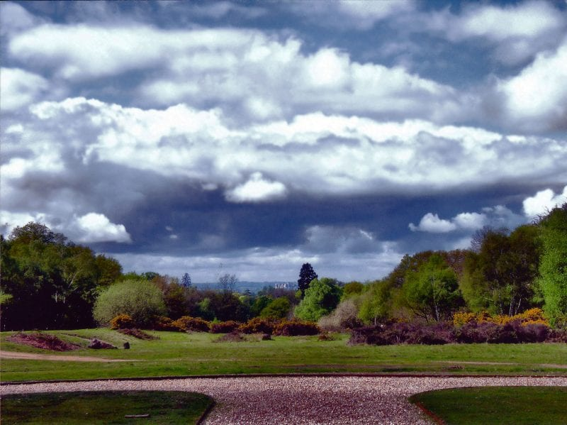 Langley Park with views to Windsor Castle