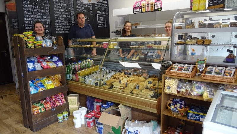 The Bakers Shop and its vastly extended range of ready made baked goods and ingredients