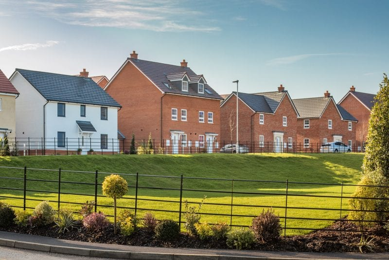 Photos of St Rumbold's Fields development, Buckingham