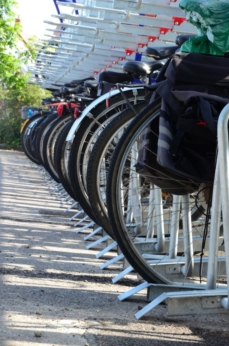 On your bike: more cycle parking in town centres a possibility