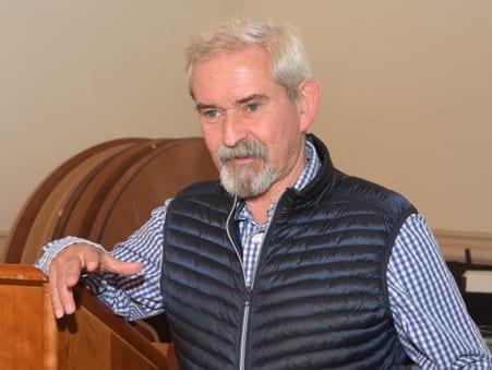 Dr James Moir: Chairman of Buckinghamshire Historic Buildings Trust