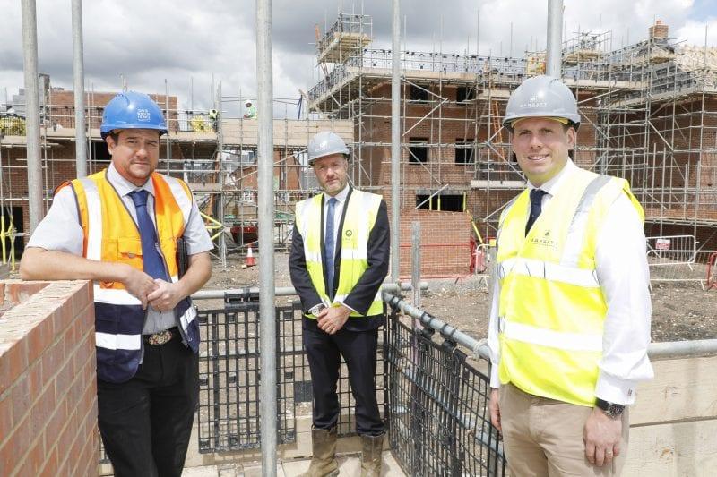 Greg Smith with Paul Hewitt and Dan Evans