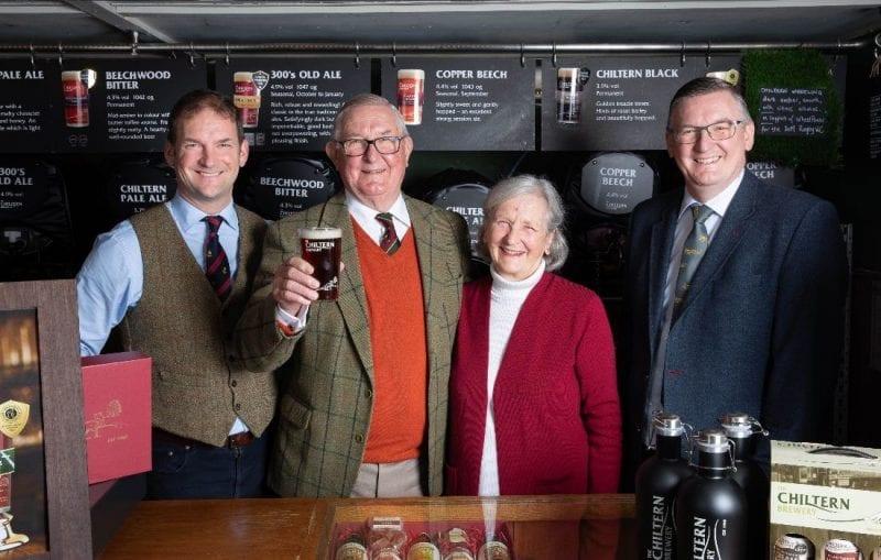 Tom, Richard, Lesley and George Jenkinson