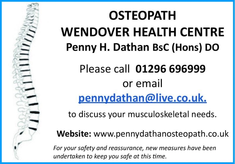 Osteopath – Penny Dathan