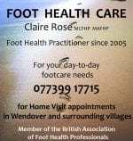 Claire Rose Foot Health Care