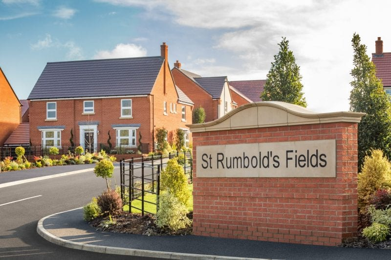 The Earlswood 5 bedroom home at St Rumbold's Fields