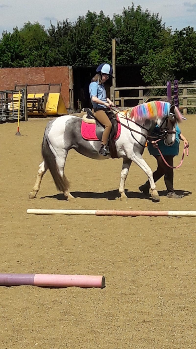 A unicorn ride at Shacks Barn Buckingham RDA