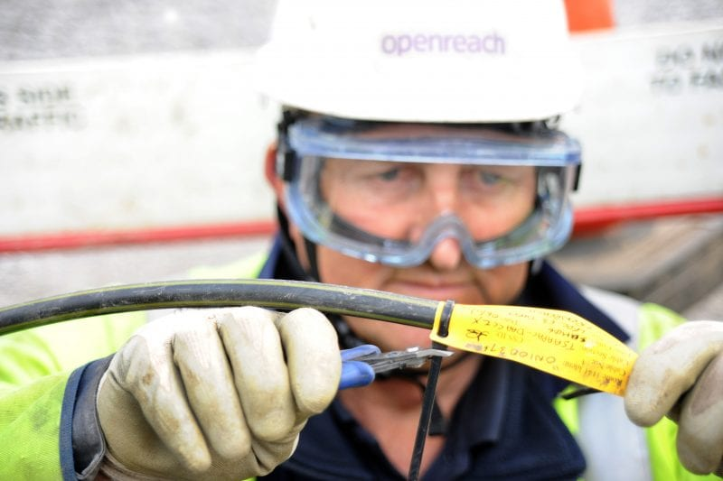 Fibre-optic cable direct to around 750 rural homes and businesses will bring gigabit-capable broadband