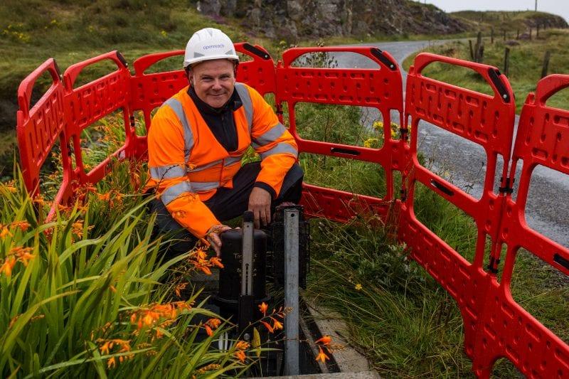 Fibre optics will bring gigabit broadband capability to some rural areas of Buckinghamshire
