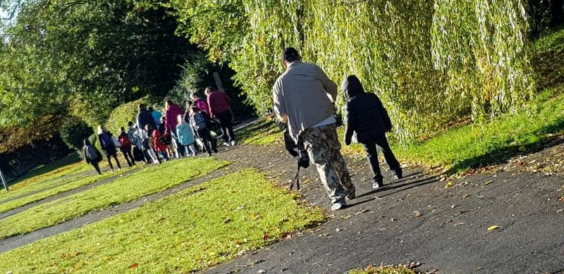 Walking to school: Buckingamshire pupils taking a healthy option to get to school