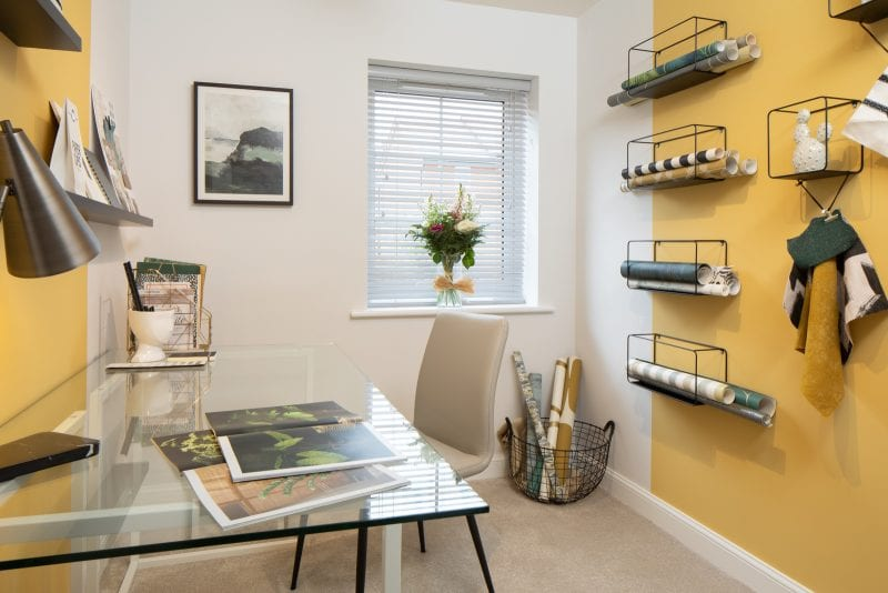 A typical study in a Barratt property