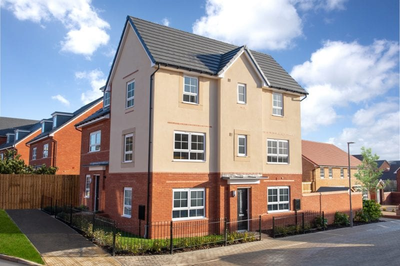 The three bedroom Brentford House at Fairfields