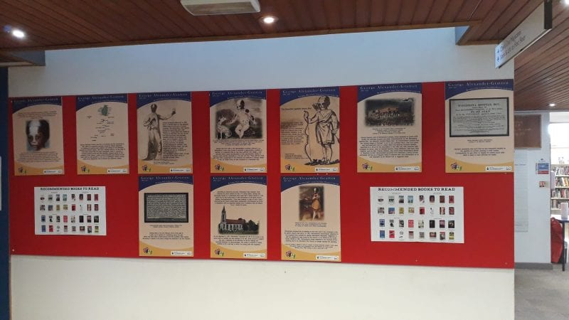 Black History Month exhibition at Chesham Library