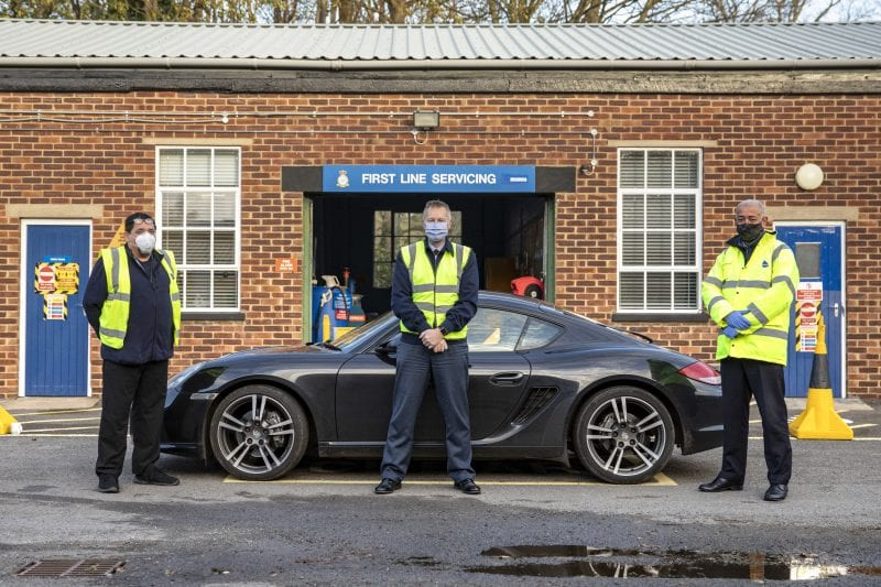 MT Team Carry Out Winter Road Safety Checks For Station Personnel.